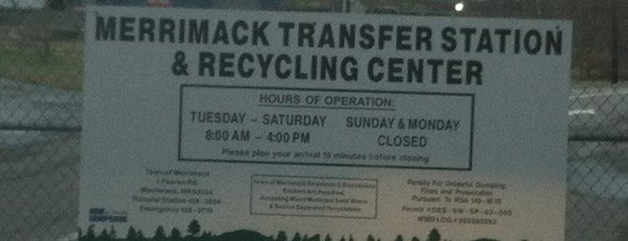 Merrimack Transfer Station is one of Orte, die Joe gefallen.