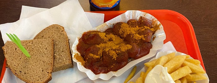 Best-Curry  Berlin | Currywurst - Bulette - Chili is one of Babe ❤️.
