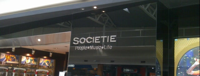 Societie is one of Records Shop ( Vinyl Badge ).