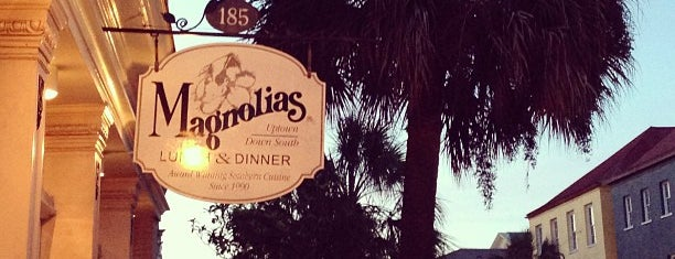 Magnolias is one of Charleston's Best Southern Food - 2013.