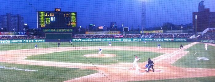 Mudeung Baseball Stadium is one of Sun Valley Resort..