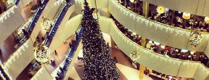 Galeria Shopping Mall is one of St. Petersburg best places.