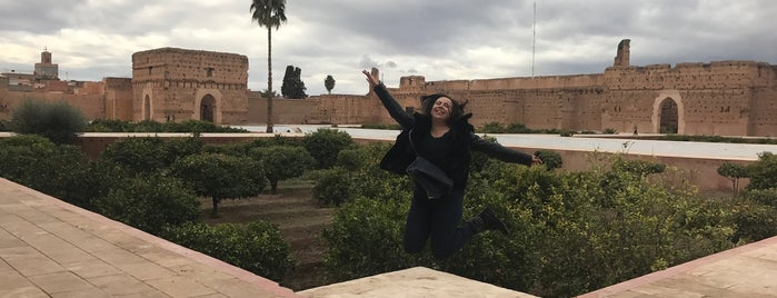 Palais El Badii is one of Marrakech.