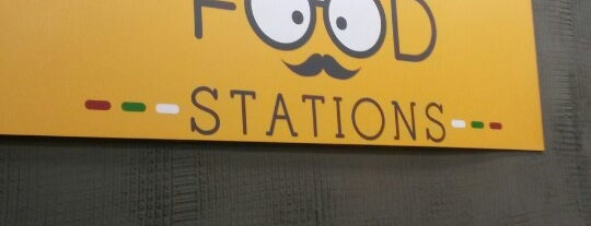 Food Stations is one of Gece 님이 저장한 장소.