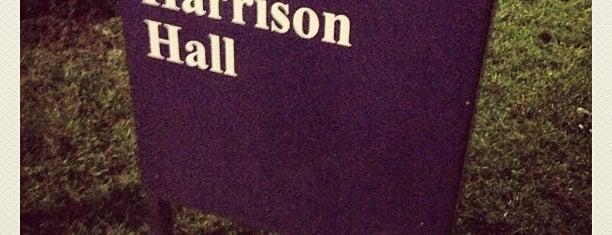 Harrison Hall is one of JMU.