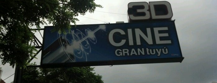 Cine Gran Tuyú is one of Cines.