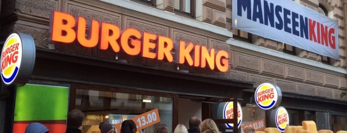 Burger King is one of Orte, die Hannes gefallen.