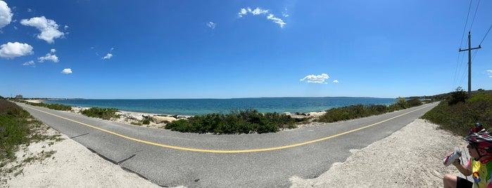 Shining Sea Bike Path is one of Lower Cape Favorites.