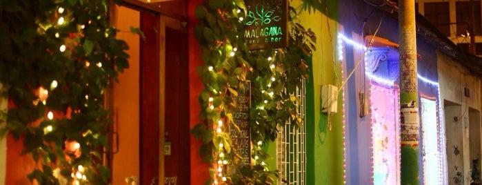 Malagana Café & Bar is one of Cartagenias.