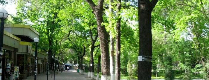 Парк | метро Космонавтов is one of Lugares favoritos de Ali.