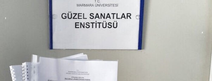 marmara üniversitesi güzel sanatlar enstitüsü müdürlüğü is one of Posti che sono piaciuti a Dsignoria.