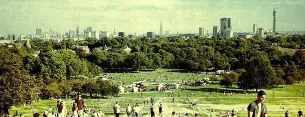 Primrose Hill is one of London 2013 Tom Jones.