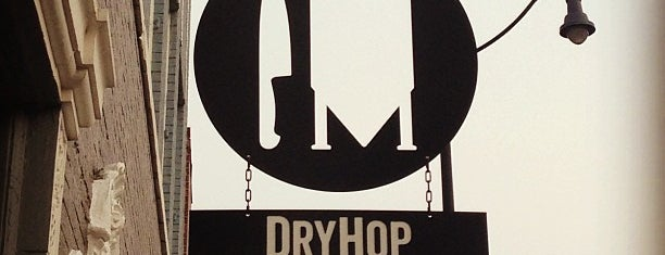 DryHop Brewers is one of Bask on this patio.