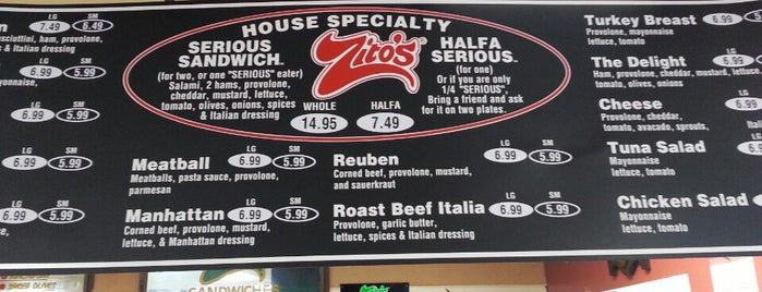 Zito's Deli is one of Texas Travel.
