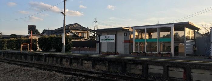 Tawarada Station is one of JR 키타칸토지방역 (JR 北関東地方の駅).