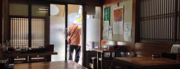 妙高そば is one of Locais salvos de Hide.