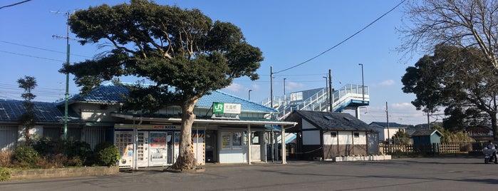 Ōnuki Station is one of JR 키타칸토지방역 (JR 北関東地方の駅).