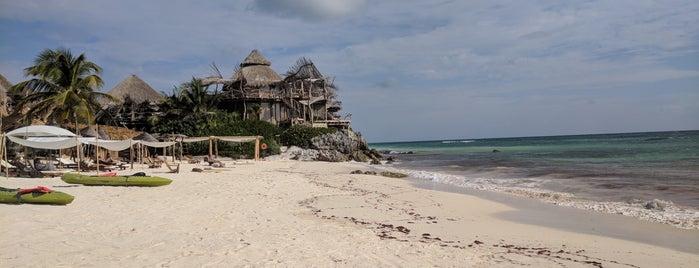 Luna Maya Beach is one of MEHICO.