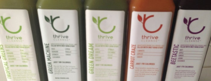 Thrive Juicery is one of static_signal 님이 좋아한 장소.