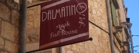 Dalmatino is one of Hvar.