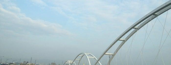鳥飼大橋南詰 is one of 淀川探訪.