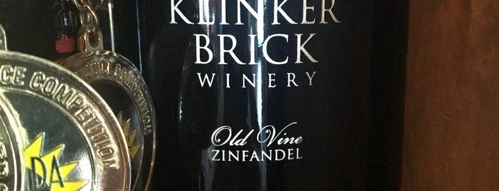 Klinker Brick Winery is one of Locais curtidos por Nathan.