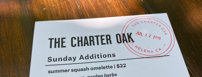 The Charter Oak is one of Want To Go.