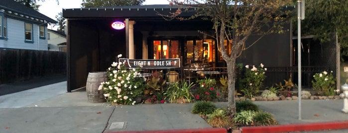 Eight Noodle Shop is one of Locais curtidos por Kemp.