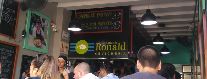 Las Barras de Ronald is one of Cafés y Restaurantes.