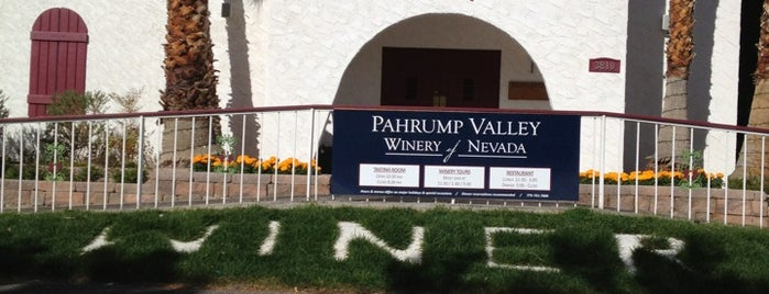 Pahrump Valley Winery and Symphony Restaurant is one of Outside Vegas.
