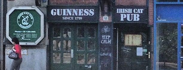 Irish Cat Pub is one of Budapest.