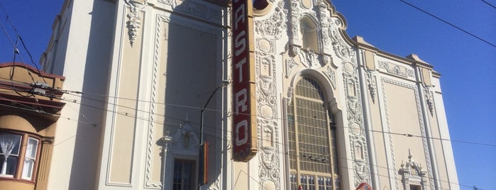 Castro Theatre is one of San Francisco to-do list.