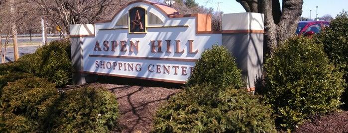 Aspen Hill Shopping Center is one of Locais curtidos por Sascz (Lothie).