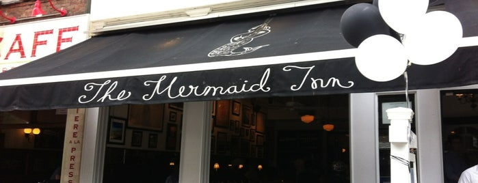 The Mermaid Inn is one of Best 200 Spots to Eat in Manhattan.