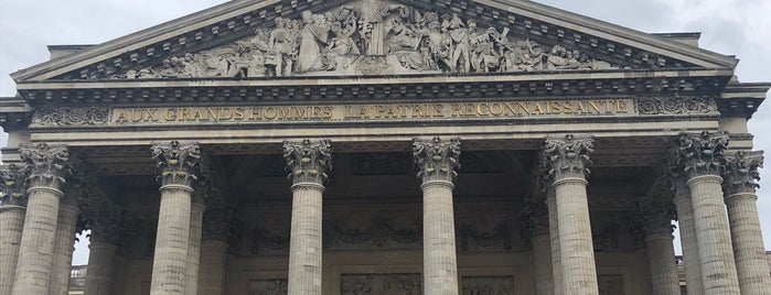Panthéon is one of Tempat yang Disukai Kubilay.
