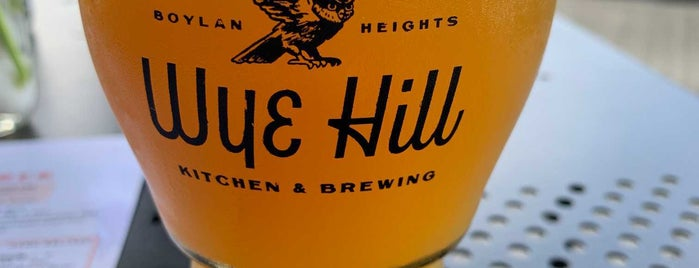 Wye Hill Kitchen & Brewing is one of NC Craft Breweries.