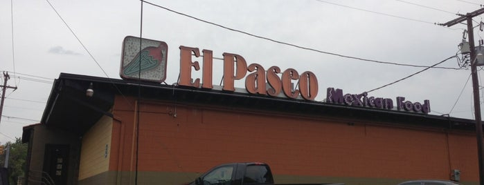 El Paseo Mexican Restaurant is one of สถานที่ที่ Elaine ถูกใจ.