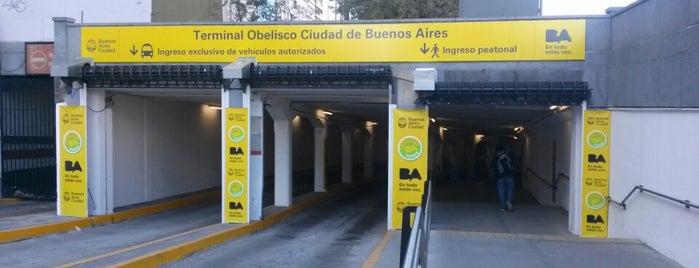 Terminal de Combis Obelisco is one of Tempat yang Disukai Alejandro.