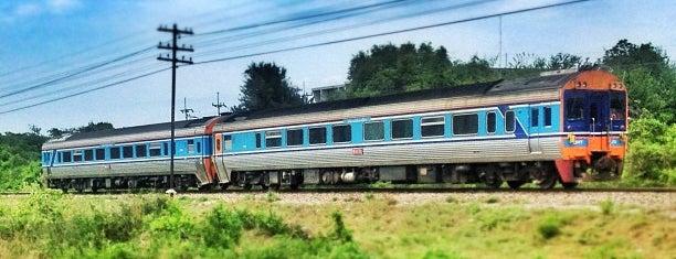 สถานีรถไฟหัวหิน (Hua Hin) SRT4118 is one of Orte, die See Mei gefallen.