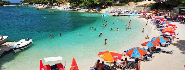 Ksamil - Islands is one of Corfu, Greece.