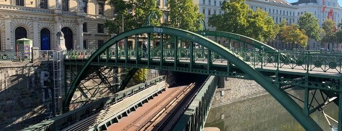 Zollamtssteg is one of Vienna.