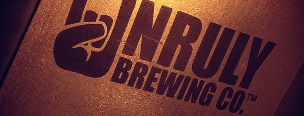 Unruly Brewing Company is one of Breanna 님이 좋아한 장소.