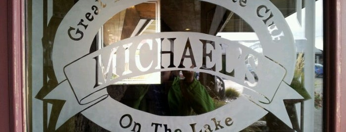 Michael's On the Lake is one of Lugares favoritos de Leandro.