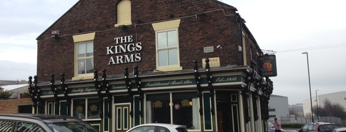 The Kings Arms is one of Lieux qui ont plu à Carl.