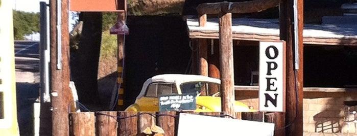 R.D.'s Log Cabin is one of near warner springs.