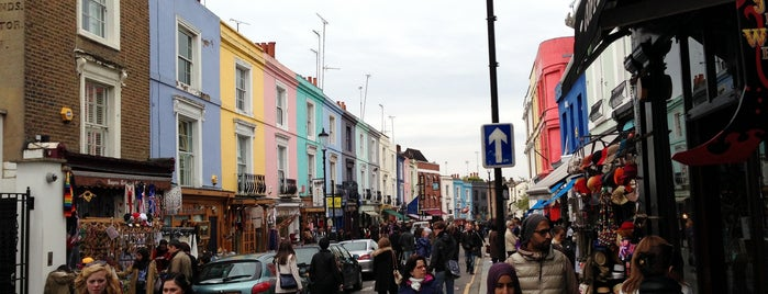 Portobello Road Market is one of United Kingdom.