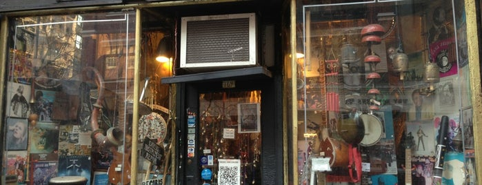 The Music Inn is one of NYC Best Shops.