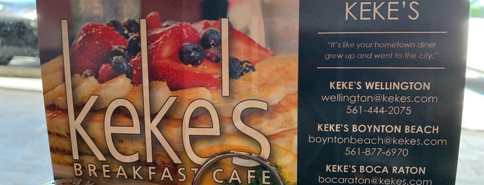 Keke's Breakfast Cafe is one of Greater Miami Area.