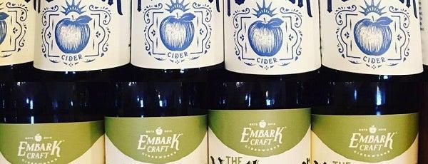 Embark Craft Cidersworks is one of Rochester Craft Beverage Trail Passport.