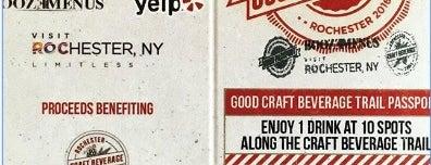 Rochester Craft Beverage Trail Passport